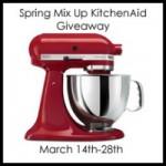 KitchenAid Mixer Giveaway US and Canada