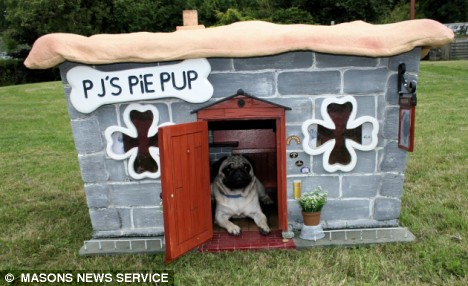 Pub Inspired Dog House
