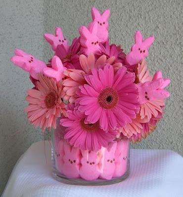 peeps in flowers