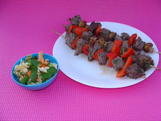 Shish Kebabs for Dogs