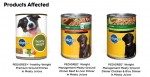 Pedigree Recall of Weight Management Canned Food