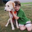 Evan Moss and Seizure Dog Mindy