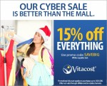 Vitacost Cyber Sale includes Pet Products