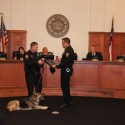 Holly Springs Police Dog Retirement Ceremony