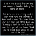 Therapy Dogs Boston