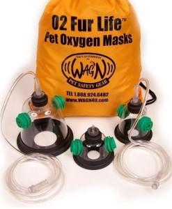 Μάσκες οξυγόνου για κατοικίδια...