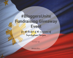 Bloggers Unite Fundraising for the Philippines