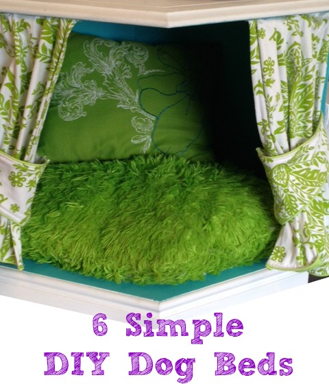 6 Simple DIY Dog Beds