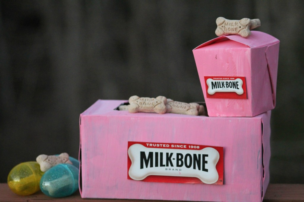 Even Children Can #SayitwithMilkBone 3 Fun Upcycled DIY Dog Treat Boxes