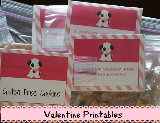Puppy Valentine Printables For Parties
