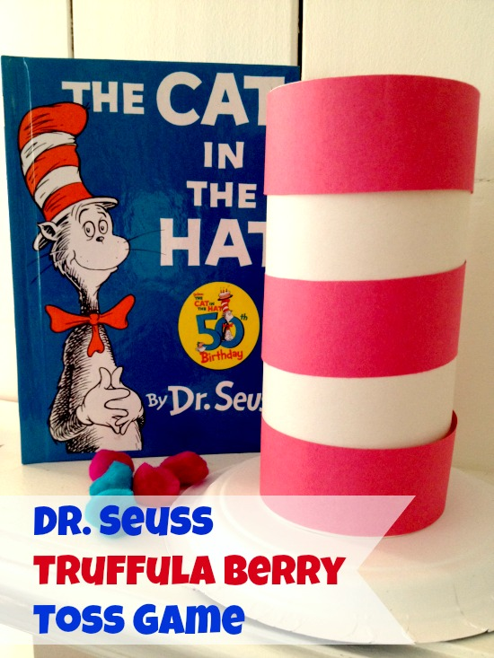 Dr. Seuss Game - Dr. Seuss Truffula Berry Toss Game