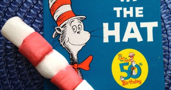 Dr. Seuss Snack Cat in the Hat Marshmallow Hats