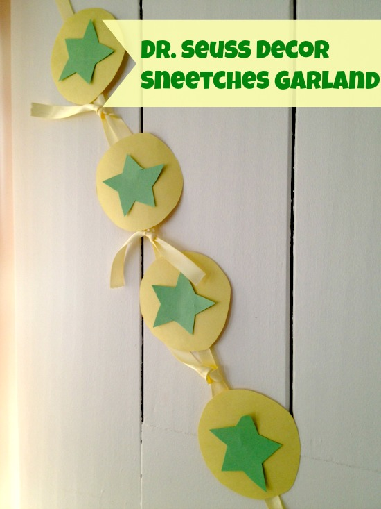 Dr Seuss Decorations Sneetches Garland