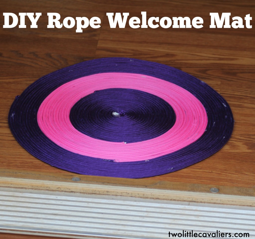 DIY Rope Welcome Mat