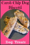 Carob Biscotti Dog Treats