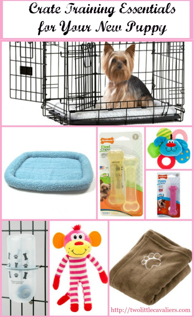 New puppy crate training essentials for cratehappypets for What a dog needs