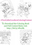 Two Little Cavaliers Coloring Contest information