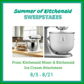 Summer of Kitchenaid