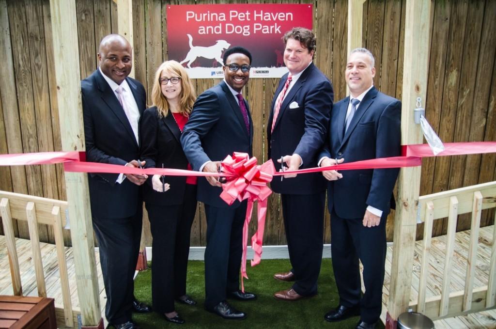 Ribbon Cutting Purina Safe Haven Dog Park