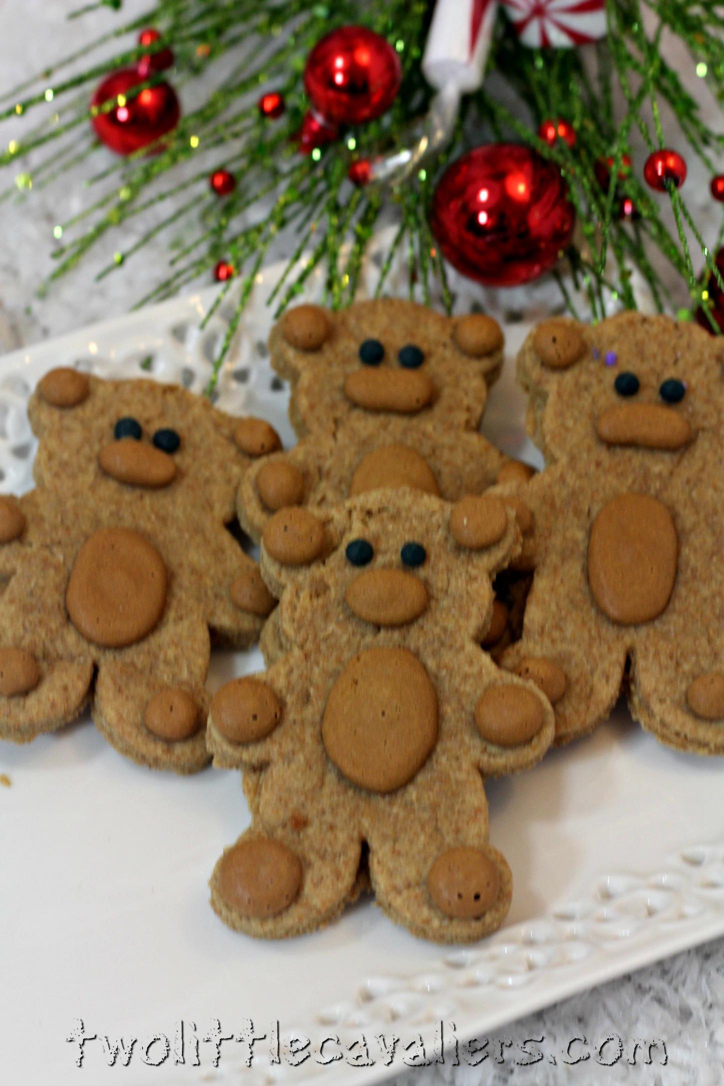 Teddy Bear Dog Treats #Recipe