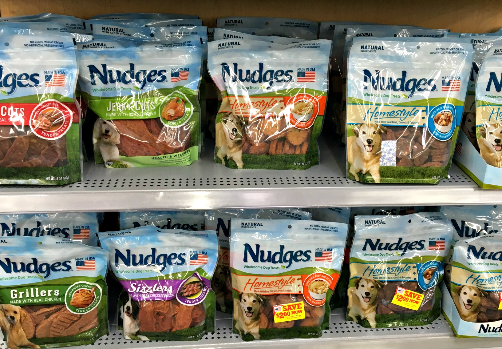 Nudges Wholesome Dog Treats #NudgeThemBack