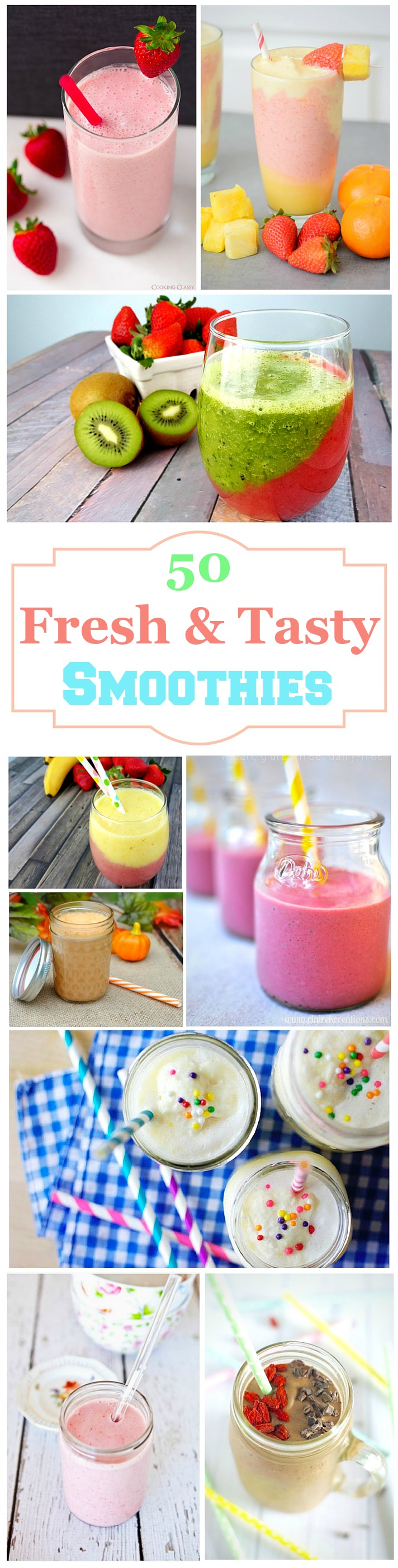 50 Fresh and Tasty Smoothies